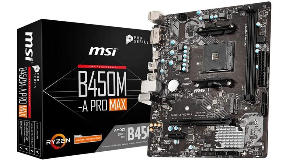 MSI B450M-A PRO MAX - Rue montgallet