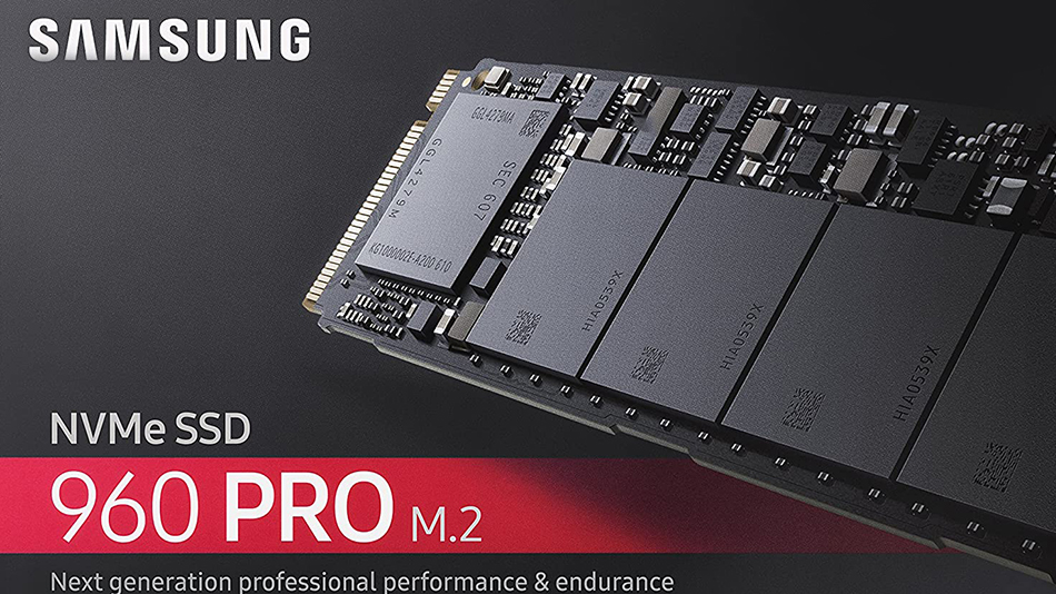 Samsung SSD 960 PRO M.2 PCIe NVMe 1 To - Rue montgallet