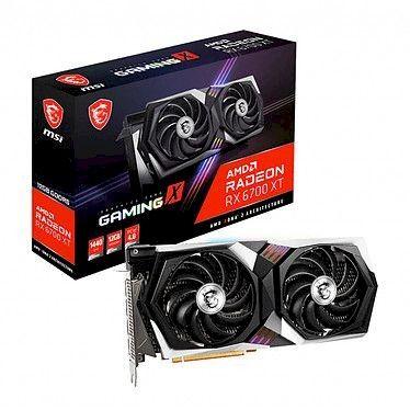 MSI Radeon RX 6700 XT GAMING X 12G - Rue montgallet