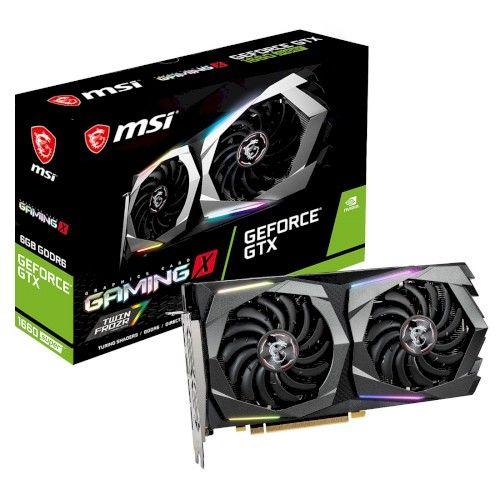 MSI GeForce GTX 1660 SUPER GAMING X - Rue montgallet