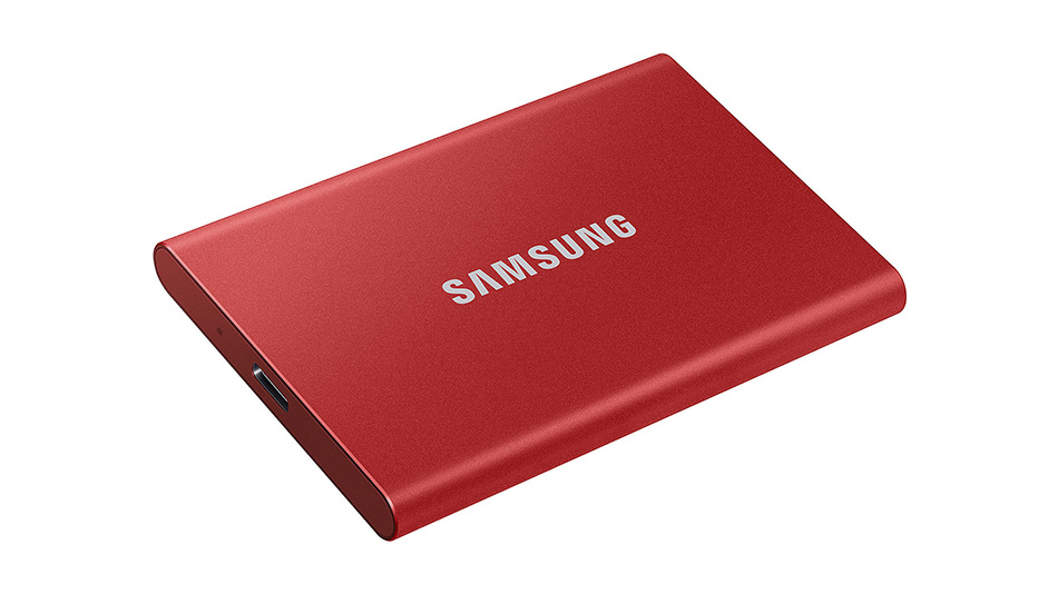 Samsung Portable SSD T7 - Rue montgallet