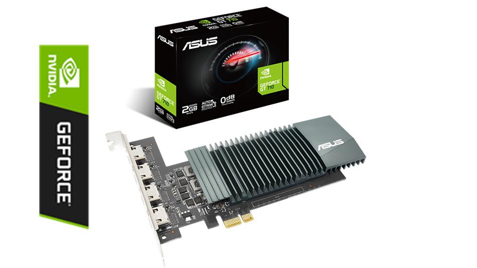 Asus GeForce GT710-4H-SL-2GD5 - Rue montgallet