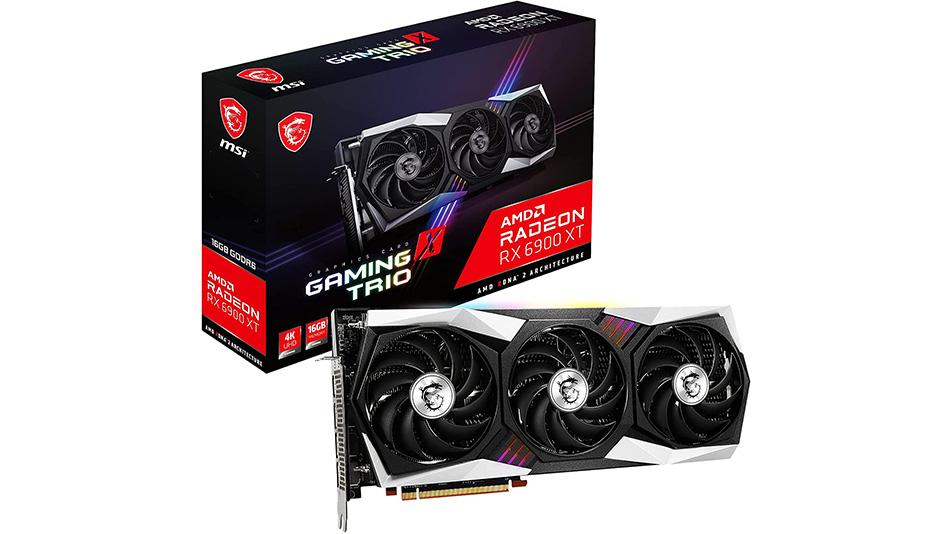 MSI Radeon RX 6900 XT GAMING X TRIO - Rue montgallet
