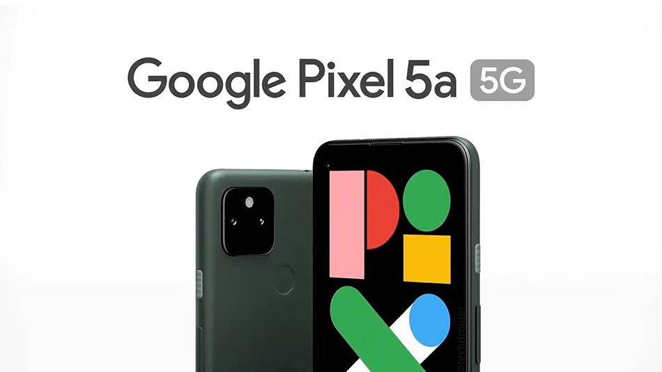 Google Pixel 5a (5G) - Rue montgallet