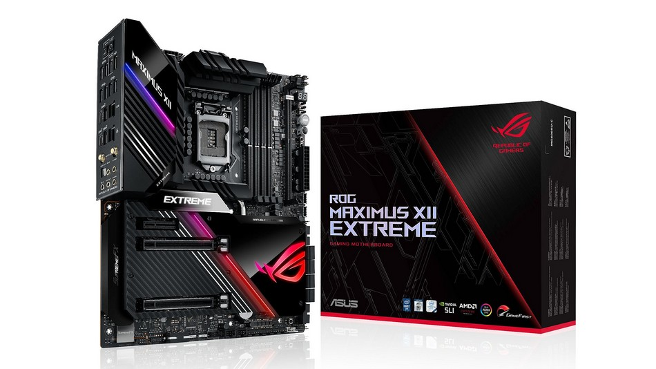 ASUS ROG Maximus XII Extreme - Rue montgallet