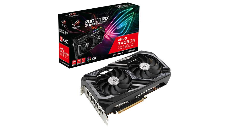 Asus Radeon ROG STRIX RX 6600 XT O8G GAMING - Rue montgallet