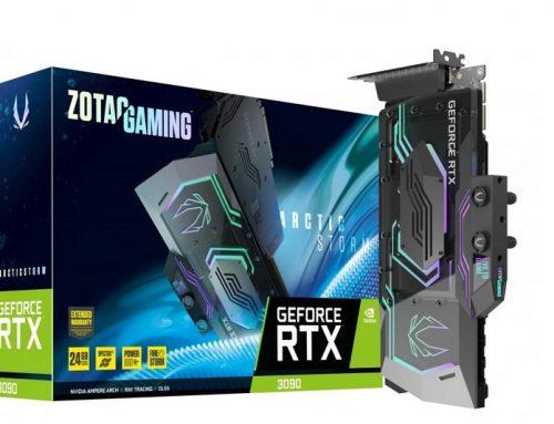 Zotac GeForce RTX 3090 ArcticStorm : puissant, beau et bien refroidi