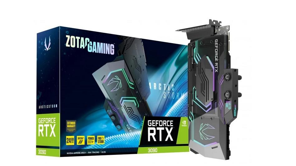 Zotac GeForce RTX 3090 ArcticStorm - Rue montgallet