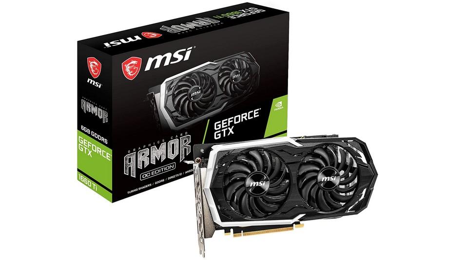 MSI GeForce GTX 1660 Ti ARMOR 6G OC - Rue montgallet