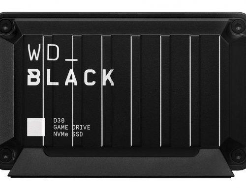 WD_Black D30 Game Drive SSD 1 To, plus de jeux sur PC et console
