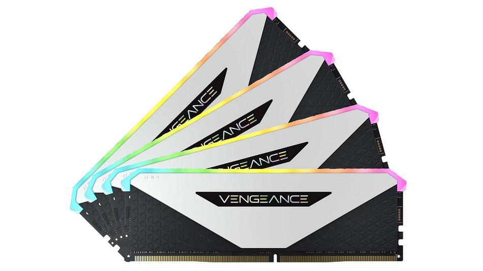 Corsair Vengeance RGB RT 32 Go (4x8Go) DDR4 3600 MHz CL18 - Rue montgallet