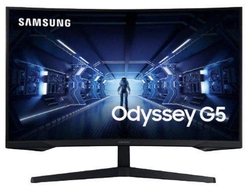 Samsung 32″ QLED – Odyssey G5 C32G55TQWU, plus d'immersion